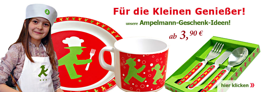 Ampelmann Ostalgie - Produkte