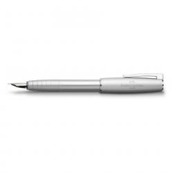 Faber-Castell Füllfederhalter LOOM Metallic Silber, M