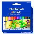 Staedtler® Plastilin-Knete Noris Club® 10 Farben im Kartonetui