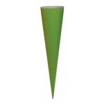 Goldbuch Bastelschultüte Buntkarton grün 70 cm 97812