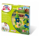 "Staedtler® Modelliermasse FIMO® Kids Materialpackung Form & Play ""knight"", 4 x 42 g"