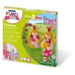 "Staedtler® Modelliermasse FIMO® Kids Materialpackung Form & Play ""princess"", 4 x 42 g"