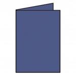 Rössler Papier Coloretti Doppelkarte - B6 hoch, 5 Stück, jeans