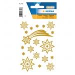 Herma 3726 Sticker MAGIC Sterne + Schweif, glittery