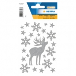 Herma 3727 Sticker MAGIC Hirsch, glittery