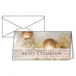 """Sigel® Weihnachts-Karten """"Christmas Glitter"""" - DIN lang (2/3 A4), 10 Karten"""