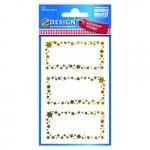 Avery Zweckform® Z-Design 52622, Weihnachtssticker, Geschenketikett, 2 Bogen/6 Sticker