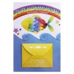 Verlag Dominique Kommunionskarte mit Geldscheinfach - inkl. Umschlag 12233