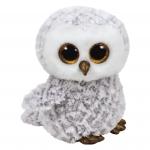 ty Beanie Boo Eule Owlette - 24 cm, weiss