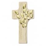 "Kreuz ""Lebensbaum"" - Holz, natur, 12 cm"