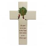 Kinderkreuz Emil - Holz, 20 cm