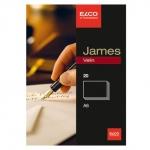 Elco Briefkarten A6, blanko, weiss, 280 g/m2, 20 Stück