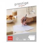 Elco Briefkarten Prestige - A6, 50 Stück, hochweiß, satiniert