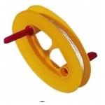 Thomas Drachenschnur Plastikspule oval ca. 100 m