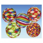 amscan Lampion Ballon - Ø 25 cm, sortiert