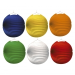 amscan Lampion Ballon - Ø 25 cm, 6 Farben sortiert