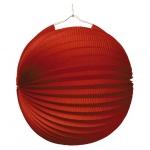 amscan Lampion Ballon - Ø 25 cm, rot