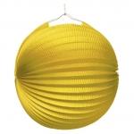 amscan Lampion Ballon - Ø 25 cm, gelb