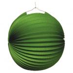 amscan Lampion Ballon - Ø 25 cm, grün