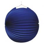 amscan Lampion Ballon - Ø 25 cm, blau