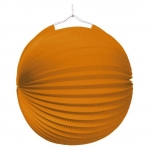 amscan Lampion Ballon - Ø 25 cm, orange