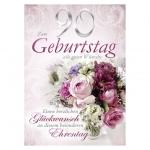 Kurt Eulzer Druck Geburtstagskarte - Zahl Jumbo 90 52-1790