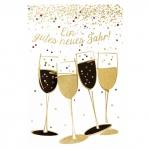 Verlag Dominique Grußkarte - Neujahrswünsche 24528