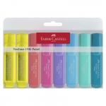 FABER-CASTELL TEXTLINER 46 Pastell - 8 Farben im Etui