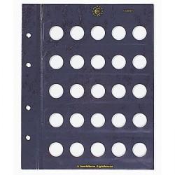 VISTA-Münzblätter für 5-Cent-Münzen 2er-Pack