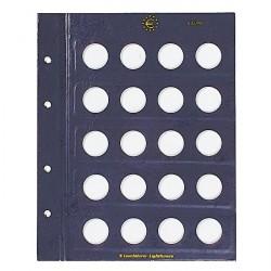 VISTA-Münzblätter für 2-Euro-Münzen 2er-Pack