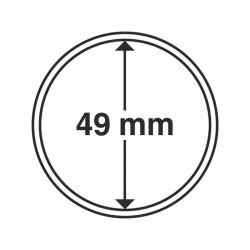 Münzkapseln Innendurchmesser 49 mm 10er-Pack