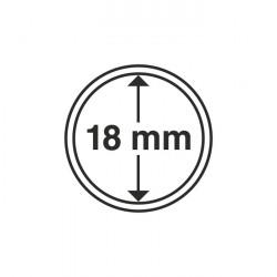 Münzkapseln Innendurchmesser 18 mm 10er-Pack