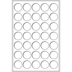 Münztableau für 45 Münzen in Kapseln bis 37 mm ø, blau 2er-Pack