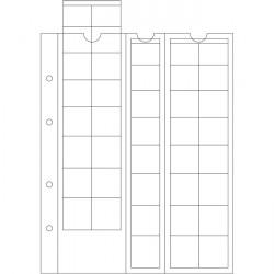OPTIMA M�nzh�llen f�r EURO-S�tze bis 26 mm �, klar 5er-Pack