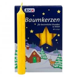 2er Pack Baumkerzen natur ca. 15 x 125 mm (2 x 12 Stück)