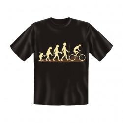 T-Shirt mit Motiv/Spruch Evo Rad