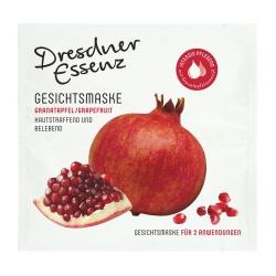 Gesichtsmaske Granatapfel/Grapefruit 2 x 6 ml