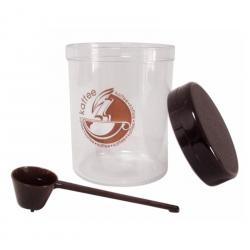 Kaffee-Geniesser-Set 4-teilig mit Kaffeetasse schwarz