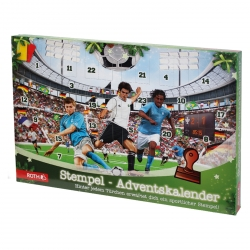 adventskalender f r kinder stempel fu ball 1 pack. Black Bedroom Furniture Sets. Home Design Ideas