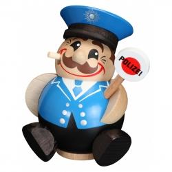 "Kugelräucherfigur ""Polizist"" ca. 12 cm"