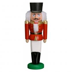 "Baumbehang Miniatur Figur Nussknacker ""Husar"" rot ca. 8,5 cm"