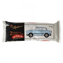 10er Pack Rotstern Zartbitterschokolade mit Puffreis (10 x 50 g)