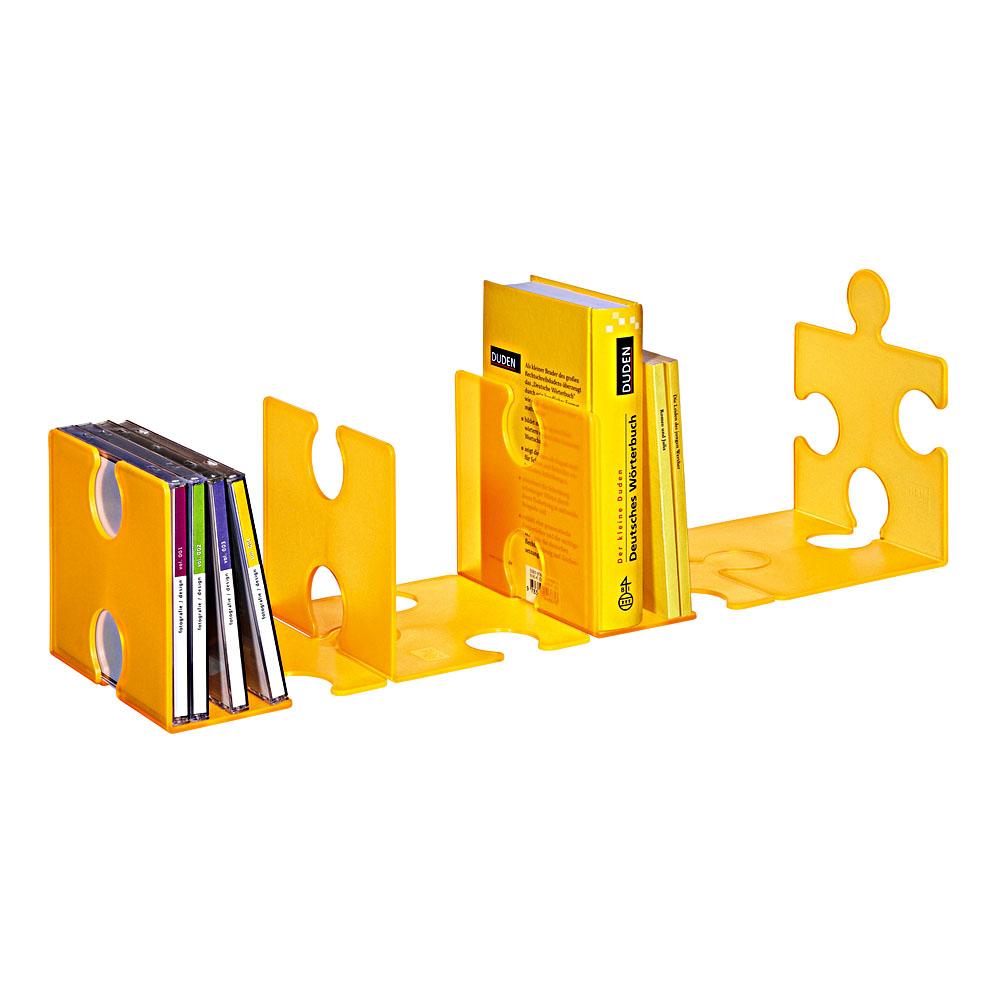 Cd st nder buchst tze puzzle 2er set verschiedene farben for Bauanleitung cd sta nder