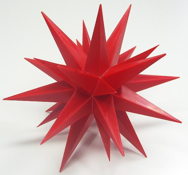 herrnhuter stern aus kunststoff ca 68 cm rot olshop. Black Bedroom Furniture Sets. Home Design Ideas