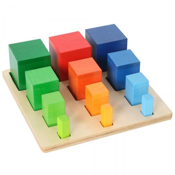 sortierspiel geometrische k rper und farben f r kinder ab 3 jahren olshop. Black Bedroom Furniture Sets. Home Design Ideas