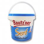 Bautzner Senf mittelscharf im Eimer 2er Pack (2 x 1000 ml)