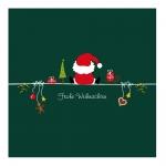 """Geschenkkarte """"Frohe Weihnachten"""" Weihnachtsmann"""