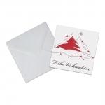 """Geschenkkarte mit Umschlag """"Frohe Weihnachten"""" Tannenbaum"""
