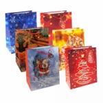 6er Pack Geschenktüte Weihnachten mittel