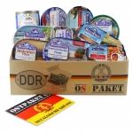 """Ostpaket """"Rügen Fisch"""" mit 11 typischen Produkten der DDR"""